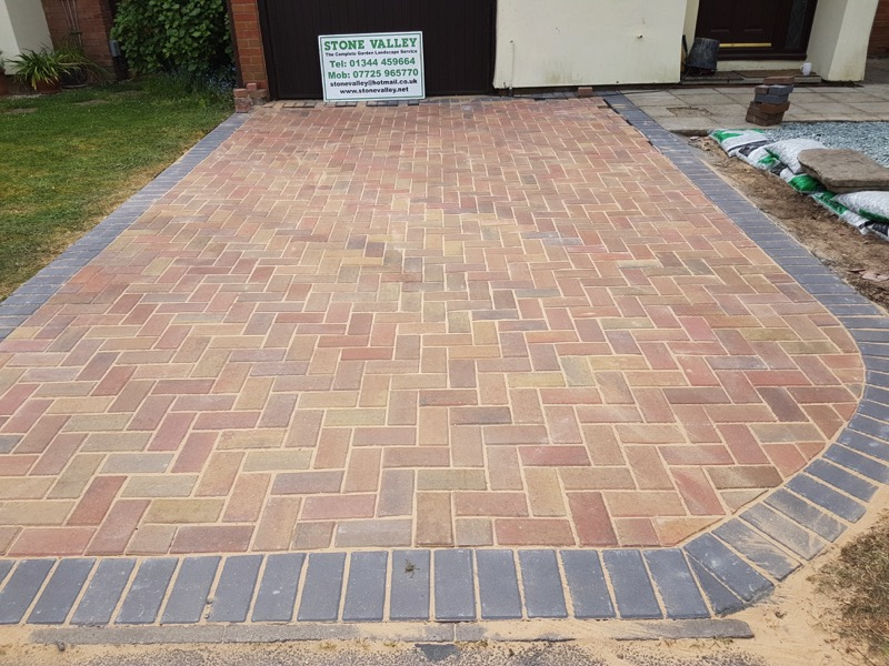 New front driveway in Reading