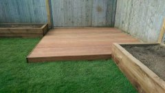 Decking project in Ascot