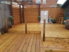 Virginia Water decking project