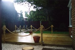 New decking install in Sunningdale