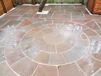 Completed patio in Maidenhead