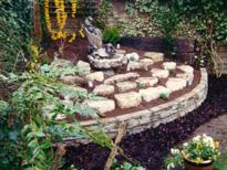 Rockery installation